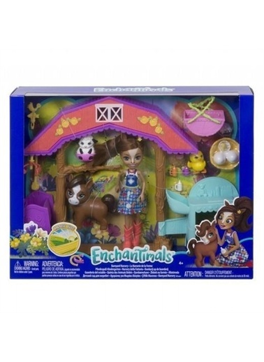 Enchantimals  Çiftliği Oyun Seti Gjx23 Renkli